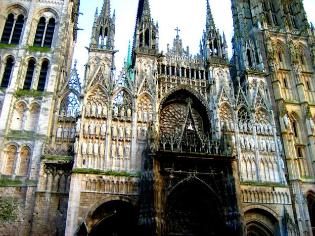 Cathedral de Rouen III edited