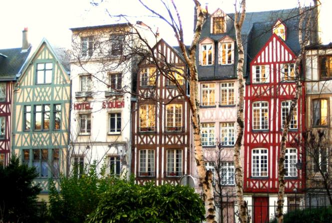 Rouen Houses VI edited