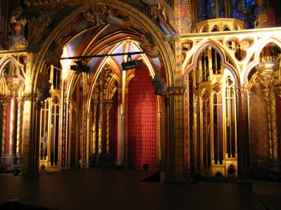 Altar of Saint Chapelle